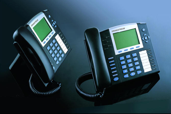 GrandStream GXP2020 IP Phone with Power Cord